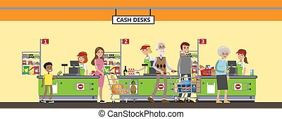 interno, set., supermercato