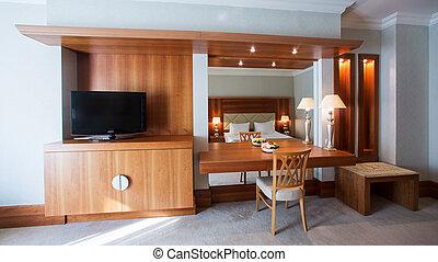 interno, soggiorno, classico