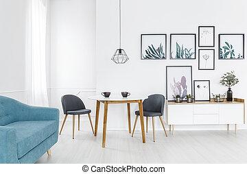 interno, soggiorno, galleria