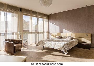 interno, spazioso, camera letto