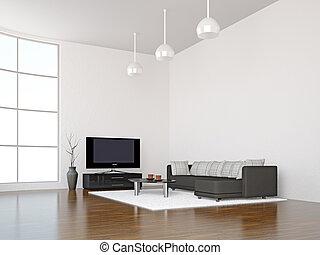 interno, stanza