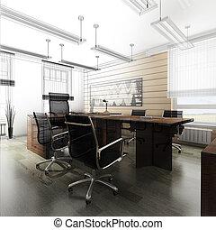 interno, ufficio