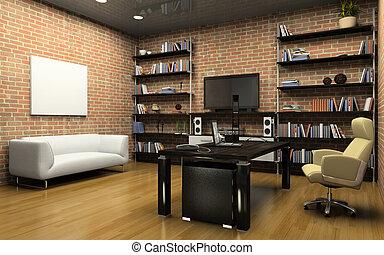 interno, ufficio privato