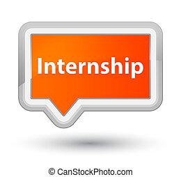 Internship prime orange banner button