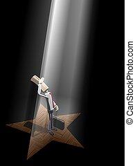 interprète, étoile
