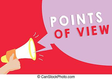 interprétation, photo, projection, perspicacité, signe, individu, texte, conceptuel, opinion, vue., évaluation, points