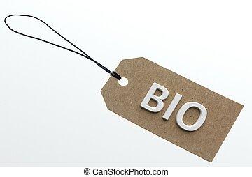 interpretación, 3d, palabra, bio
