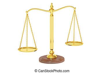 interpretación, escalas, justicia, 3d