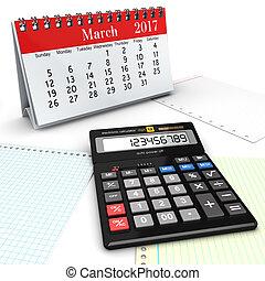 interpretazione, calcolatore, 3d