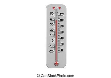 interpretazione, termometro, 3d