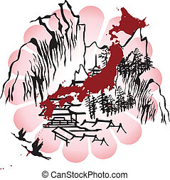 interpreted the image of Japan