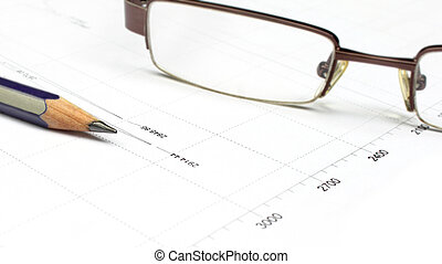 Interpreting graphical data with pencil and spectacles