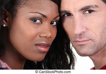 interracial カップル