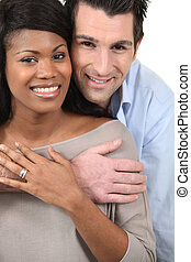 interracial,  couple