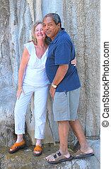 interracial, couple.