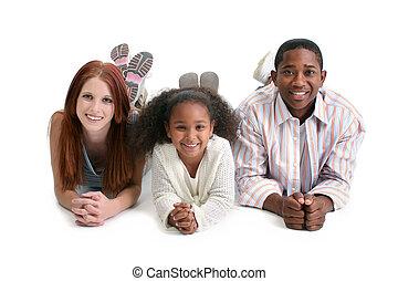 interracial család