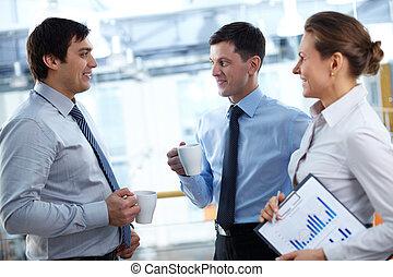 interrupción, empresa / negocio
