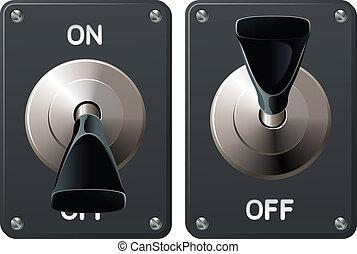 interrupteur à bascule