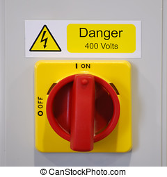 interruptor, industrial, elétrico
