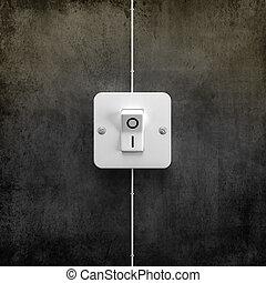 interruptor, interruptor