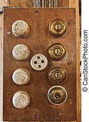 interruptores, viejo