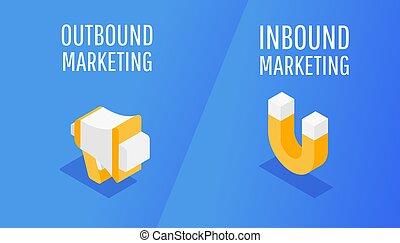 interruzione, permesso, linea, marketing
