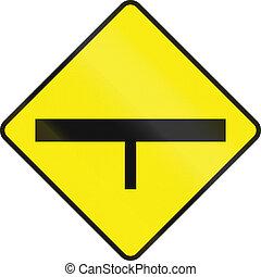 intersección, adelante, irlanda