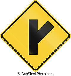intersección, adelante