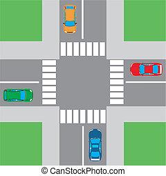 intersección