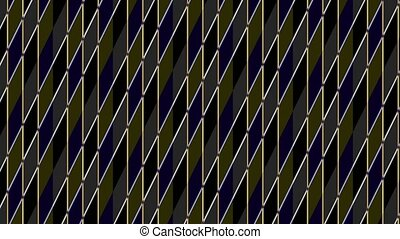 intersected, coloré, consister, animation, stripes.