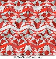 intersected mosaic seamless pattern