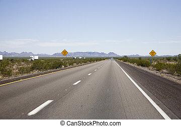 Interstate 10 in Arizona, USA