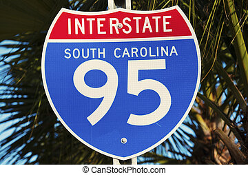 Interstate 95 in South Carolina