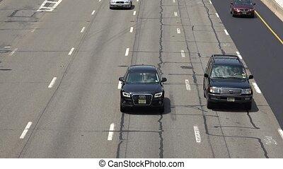 Interstate Highway Vehicle Traffic