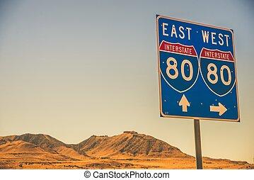 Interstate I-80 Nevada