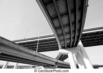 Interstate overpass - I-40 interstate overpass in Memphis,...