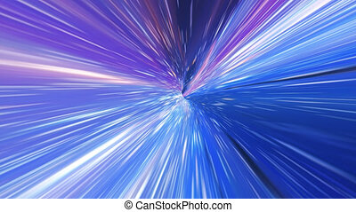interstellaire, hyper, vagues, trou ver, tunnel, énergie, voler, gravitational, space., ou, saut, singularité, par, vortex., temps, résumé, concept., spacetime, voyage
