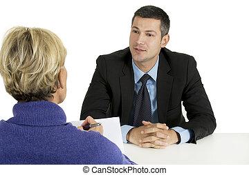 interview, arbeit