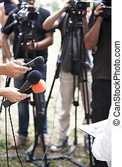 interview, media