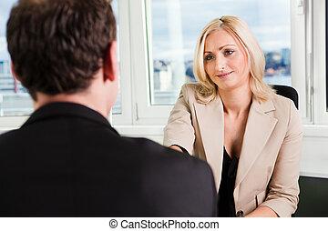 intervista, affari