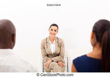 intervista, occupazione