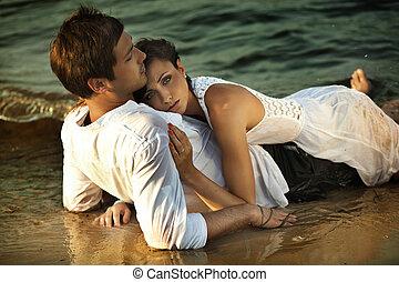 intimidade, praia
