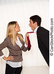 intimide, em, a, workplace., agressão, e, conflict.
