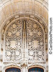 Intircate Detail at Church Entrance