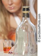 intoxiqué, alcool