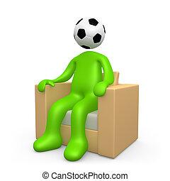 intoxiqué, football