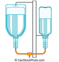 intravenous, druppelteller