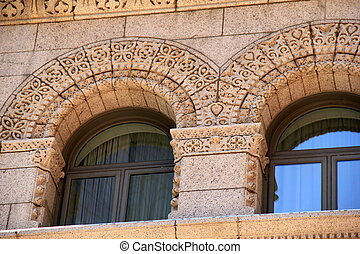 Intricate detail of stone work - Intricate detail in design...