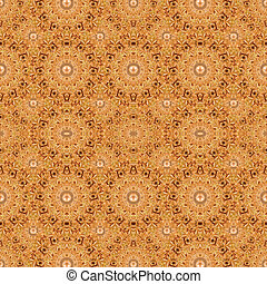 Intricate Modern Ornate Baroque Seamless Pattern