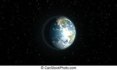 intro, la terre